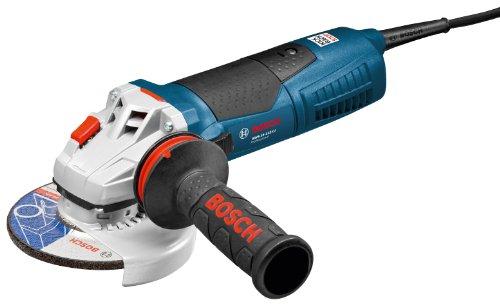 Bosch GWS 15-125 CI Professional Winkelschleifer mit Zusatzhandgriff Vibration Control inklusive 36 Monate Voll-Service