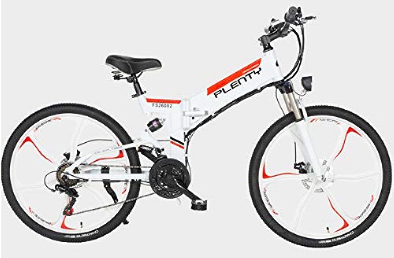 Xiaotian Zusammenklappbares elektrisches Mountainbike, Lithium-Batterie für Fahrrder, Gelndefahrrder, 26-Zoll-21-Gang-Rad mit DREI Messern