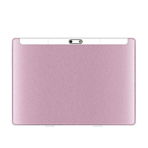 LORIEL 10-Inch Tablet PC, 4G HD Call + Wifi Internet Access/GPS Navigation/1920 * 1200 IPS Large Screen Android Tablet PC, for Children/Office Workers,Pink,3GB+64GB