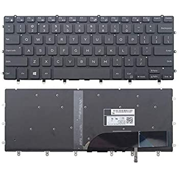 Without Frame for Dell P66F P66F001 P72F P72F002 P75F P75F002 P75F003 Light Backlight wangpeng New US Black Backlit English Laptop Keyboard