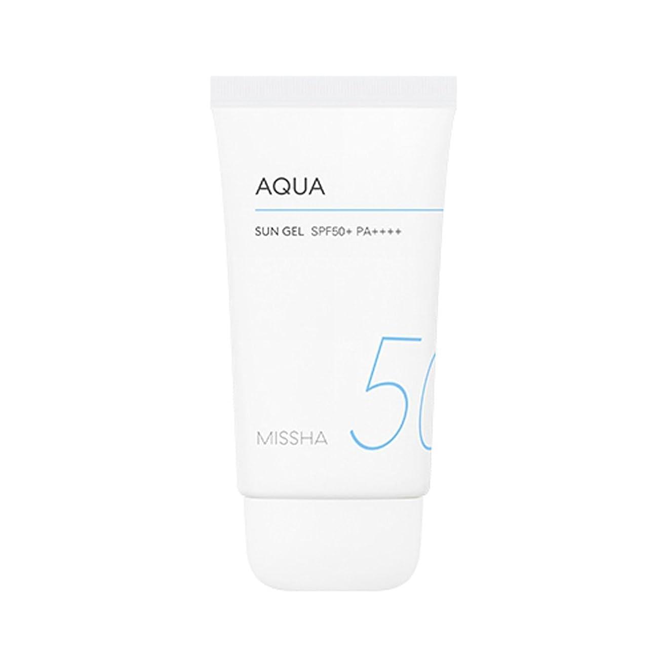 表示性別そよ風Missha All Around Safe Block Aqua Sun Gel SPF50+ PA++++ 50ml ミシャ オール アラウンド セーフ ブロック アクア サン ジェル 50ml [並行輸入品]