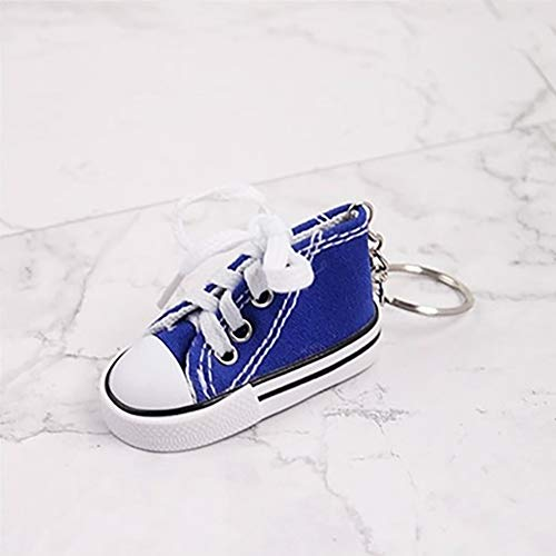 KuanDar clo Mini Sneaker Schuh Schlüsselanhänger,Motorrad Fahrrad Fuß Unterstützung Dekor,Schlüsselanhänger Schlüsselanhänger Mit Kleinen Schuhen Modellierung,Für Den Radsport A