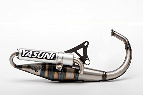 YASUNI Marmitta Scooter Z Alluminio per Minarelli Verticale