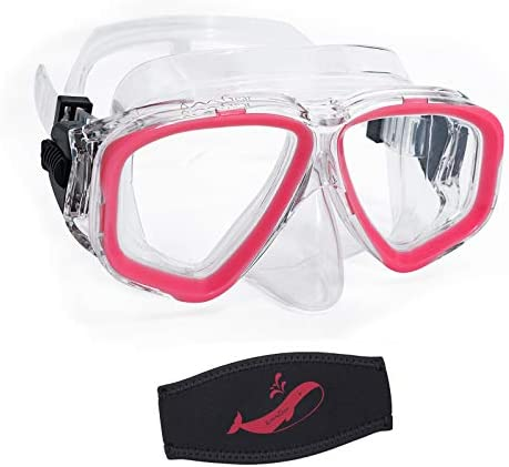 OMGear Youth Diving Goggles Nose Cover Kids Scuba Mask Goggles Swim Kids Snorkeling Gear A Swim product image