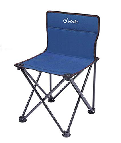 REAYOU Folding Camp Chair ― Lightweight & Durable Outdoor Seat ― Perfect for Camping, Festivals, Garden, Caravan Trips, Fishing, Beach, BBQs (coffee)