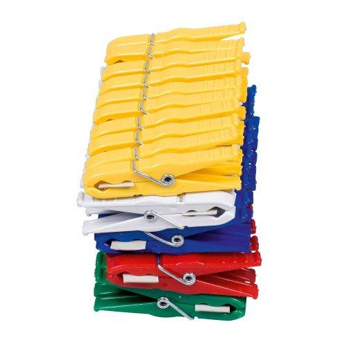 helo Beutel mit 50 Stück Luran-Wäscheklammern