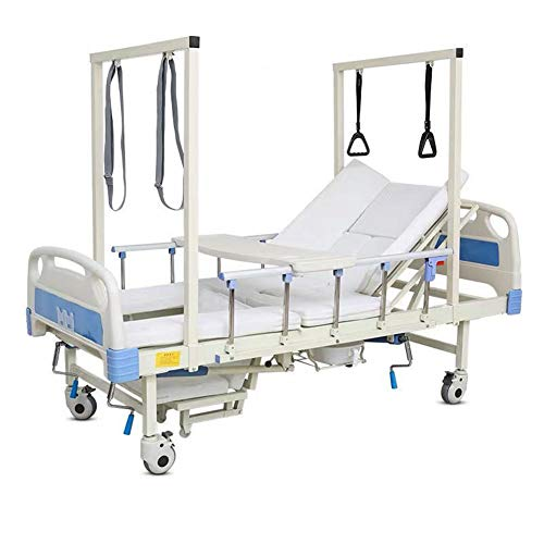 WSN Das medizinische Bett verwandelt Sich in EIN Bett, Älteres Hebebett mit Toilettenloch und orthopädischer Traktion für medizinisches Bett - Druckschmerzen und Druckgeschwürentlastung