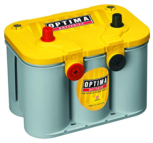 Our #3 Pick is the Optima Batteries 8014-045 D34/78 YellowTop Dual Purpose Battery
