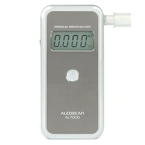 AlcoMate Premium AL7000 Professional Breathalyzer with Prism Technology