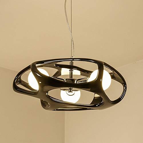 De enige goede kwaliteit Indoor E27 Moderne Minimalistische LED Plafond Lamp Grootte 46CM*20CM Bestraling Gebied 15m2-30m2 Vierkante Meters Lamp Verlichting Zwart