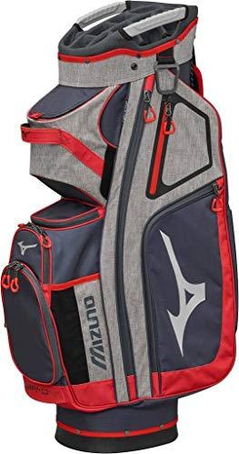 Mizuno brd4C Golftasche, Unisex Erwachsene, grau/rot