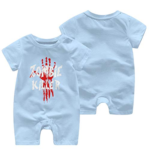 Baby This Boy Loves his Daddy Vintage Look Baby Kurzarm Body Strampler