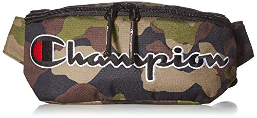 Champion Herren Prime Waist Bag Bauchtasche, Woodlang/Camouflage, Einheitsgröße
