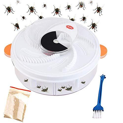 YOLE Dispositivo de Trampa para Moscas con artefacto eléctrico para atrapar Mosquitos,...