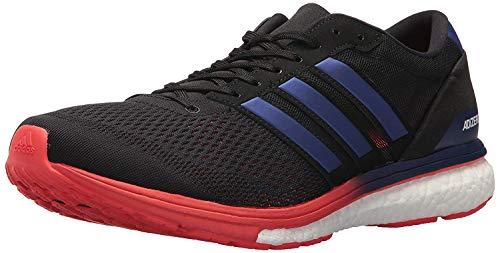 adidas Adizero Boston 6 M Zapatillas de running para hombre, Negro (Core negro/púrpura real/rojo alta resolución), 39.5 EU