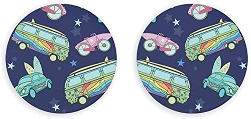 Imanes botón multifunción con abrebotellas de cerveza, tablas de surf azul en el transporte coches nevera