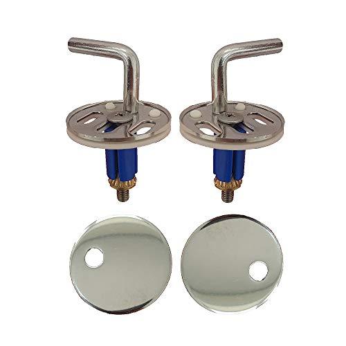 Cerniere regolabili fissaggio dall'alto acciaio inox per copriwater termoindurente by HYDRO HOME