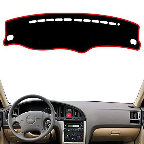 VNASKH Alfombrilla para salpicadero, alfombrilla para instrumentos, sombrilla para salpicadero, para Hyundai Elantra I30 XD 2001 2002 2003 2004 2005 2006