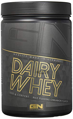 GN Laboratories 100 % Dairy Whey Proteinshake Protein Protein Protein Protein Bodybuilding (Rice Pudding Cinnamon Flavor - Arroz de leche canela)