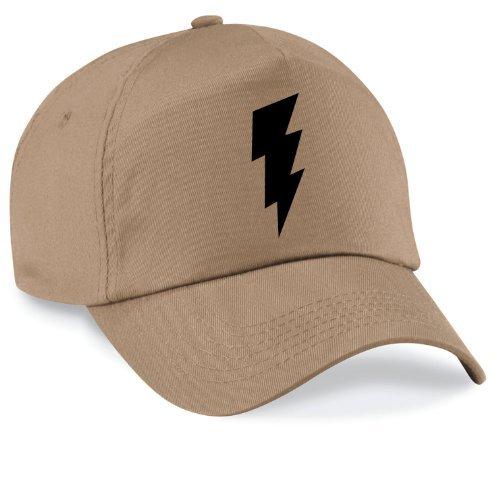 Casquette shazm flash bazinga movie capy cap taille style unisexe nombreux coloris disponibles Mixte Beige - Marron