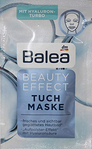 Balea Beauty Effect Tuch Maske 10er Packung