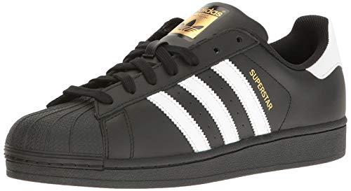 Adidas Superstar - Scarpe da uomo, Nero (nero/bianco/nero.), 41 EU
