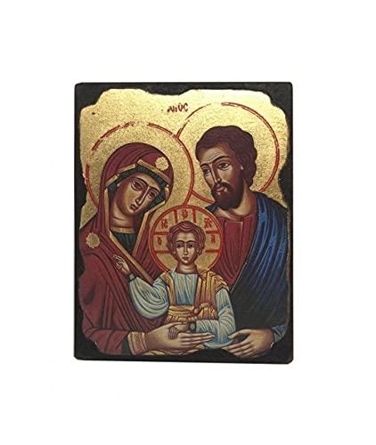Heilige Familie Maagd Maria Baby Jezus Joseph Foto Opknoping Icoon Stijl Religieuze Muur Plaque Decor