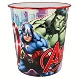ILS I LOVE SHOPPING Cestino Rifiuti Pattumiera in plastica 23x21cm per Bambini (Marvel Avengers Supereroi)