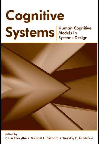 Cognitive Systems: Human Cognitive Models in Systems Design (English Edition)