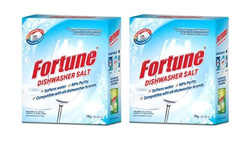 Fortune Dishwasher Active Salt – 1 kg (Pack of 2)