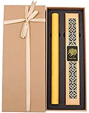 Cambodian Oud Bakhoor Incense Sticks Aromatherapy Diffuser with Incense Burner Gift Box, Bakhoor BoSidin - A18