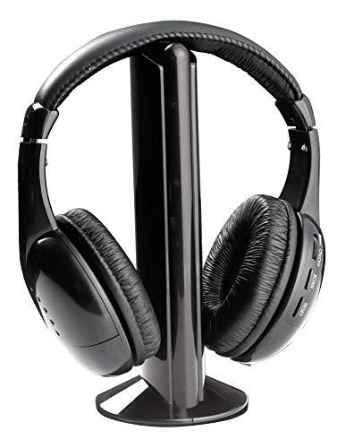 Esperanza TH110 Titanum Drahtlose Kopfhörer Mit Eingebautem Radio FM Liberty Schwarz