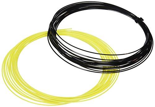 Dunlop Saitenset Revolution NT Hybrid Set, Schwarz/Gelb, 12 m