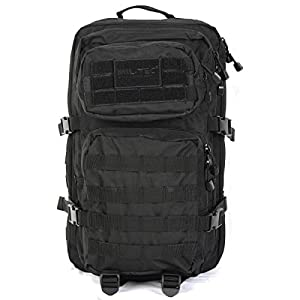 41g2tMnJFVL. SS300  - Mil-Tec Military Army Patrol Molle Assault Pack Tactical Combat Rucksack Backpack Bag 36L Black