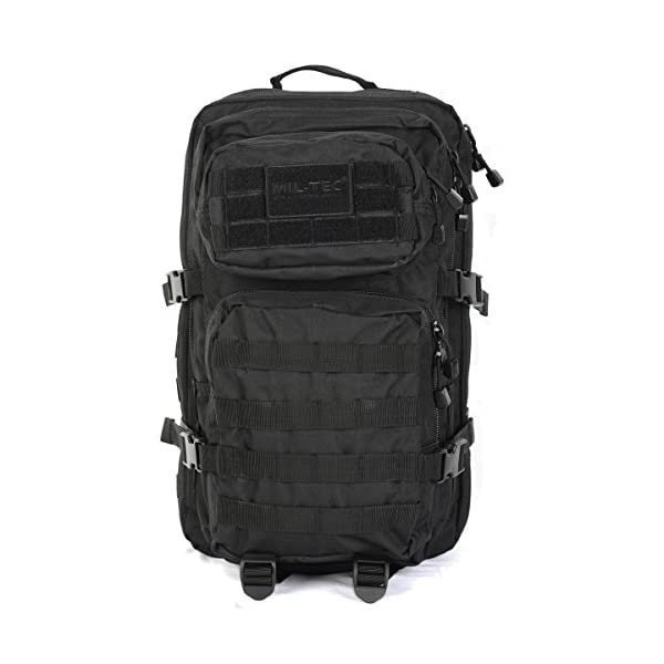 41g2tMnJFVL. SS600  - Mil-Tec Military Army Patrol Molle Assault Pack Tactical Combat Rucksack Backpack Bag 36L Black