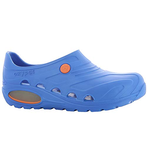 Oxypas Oxyva Slip On Sanitari Antiscivolo, Blu (Electric Blue), 37/38