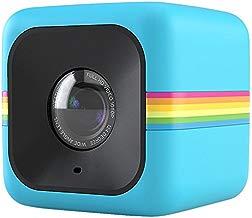 Polaroid Cube Videocámara de acción de estilo de vida HD 1080p (AZUL)