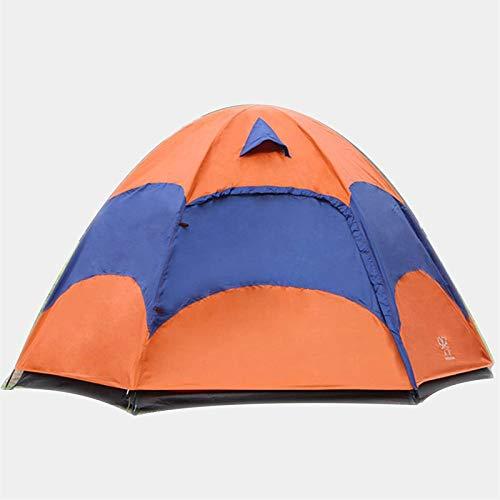 Tiendas de campaña para acampar Carpa de playa automática al aire libre, Hexágono de la tienda, 5-8 Hombre Festival Tienda de cúpula, Tienda de camping de 5-8 personas, Tienda de mochileros de una sol