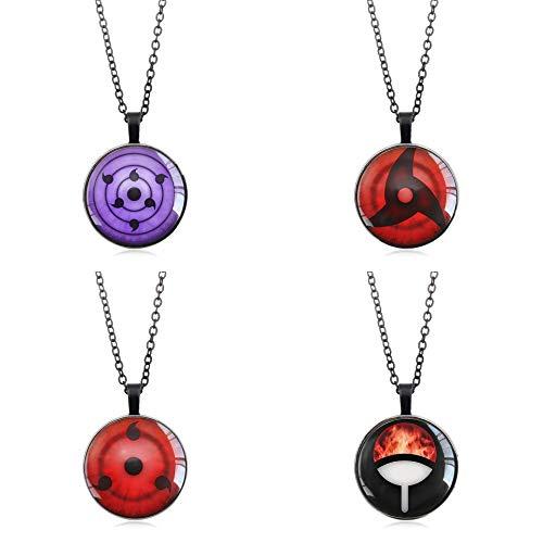 Akatsuki Collar, Itachi, Kunai, Naruto de Metal Collar Anime Cosas Cordón Regalo Conjunto Cosplay Vestido Accesorios