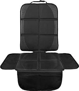 LIONSTRONG - Protector seguro para asiento infantil - Protege tu coche - Fundas para sillas de coche - ISOFIX (negro)