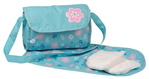 Adora Baby Doll Diaper Bag - Flower Power Diaper Bag with Baby Doll Accessories