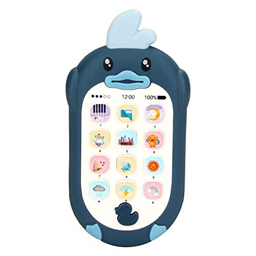 popchilli Teléfono Móvil para Bebés, Juguete para Teléfono con Música para Bebés, Juguete Educativo Multifuncional con Rompecabezas De Música, Juguetes Educativos Tempranos