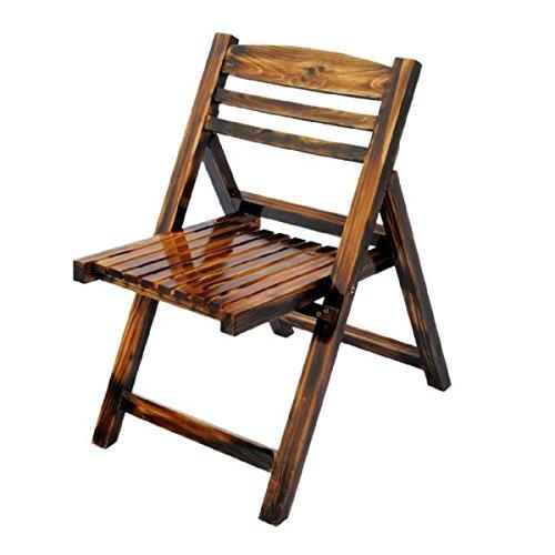 GAOJIAN Chaises Pliantes Bois Massif Salon de ménage Table à Manger Chaises Tabourets Balcon Cour de Loisirs Chaise de Mode