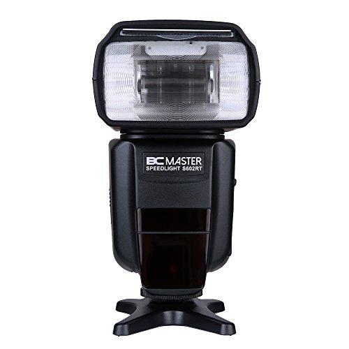 BC Master Blitzgerät, Professioneller Blitz, GN58 DSLR Kamera Blitzgerät Set für Canon E-TTL, 7D, 60D, 600D, 580EXII, 600EX, Nikon I-TTL , SB-700, 800 und SU-800