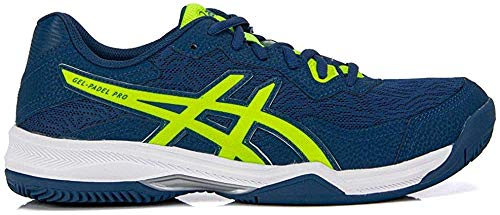 Asics Gel-Padel Pro 4 Azul 2020 Unisex Adulto, Mako Blue Safety Yellow, 43.5 EU