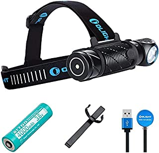 Olight Perun 2 2500 Lumens Headlamp Multi-Functional Headlight with 21700 Ultra-Compact Cool White Magnetic USB Rechargeable