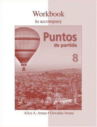 Workbook to accompany Puntos de partida: An Invitation to Spanish