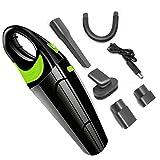 SUNHAON 12v 120w 6500pa Aspiradora De Mano para Automóvil Sin Cable, Aspiradora...