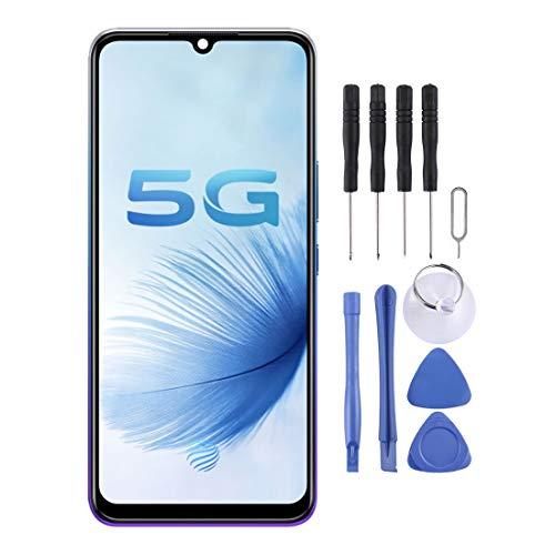 携帯電話修理スペアパーツ Vivo S6 5G用のオリジナルのLCDスクリーンとデジタイザーのフルアセンブリ 携帯電話のディスプレイ