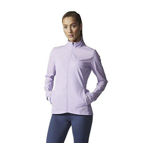 Adidas Damska bluza SN Storm - czerwona/brązowa, duża